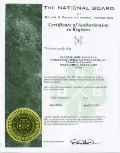 NBIB CERTIFICATE of AUTHORIZATION to REGISTER